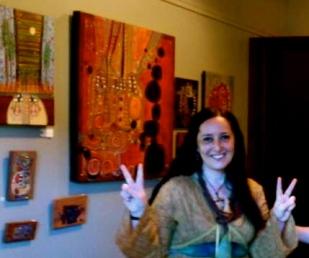 My studio and showroom at the Empress Hotel Victoria B.C.
