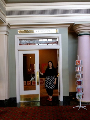 Entrance to my studio and showroom at the Empress Hotel Victoria B.C.