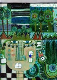acrylic on canvas/detail
