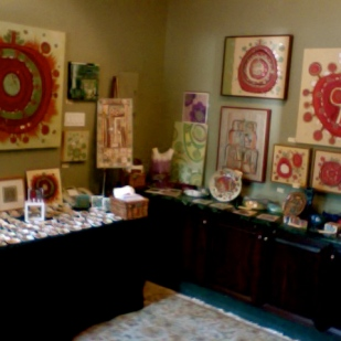 My studio and showroom at the Empress Hotel Victoria B.C.